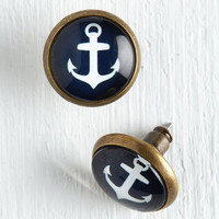 ModCloth Nautical A Joy, Matey! Earrings
