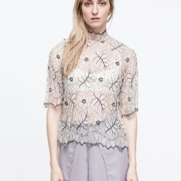 Ganni / California Lace Blouse