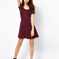 Only | Only Cross Back Skater Dress at ASOS