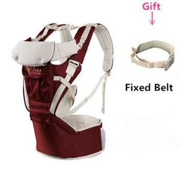 Toddler Backpack class Promotion! Ergonomic baby carrier Toddler Wrap canguru Adjustable baby born Sling baby gear Wrap Rider Hipseat AT_50_3