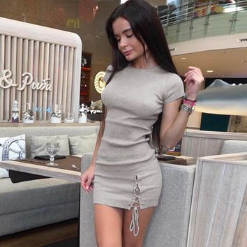 Sexy Skirt Women's Fashion Summer One Piece Dress [302111522857]