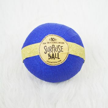 surprise ball-royal blue