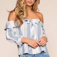 Something Sweet Top - Blue