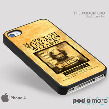 Sirius Black Harry Potter for iPhone 4/4S, iPhone 5/5S, iPhone 5c, iPhone 6, iPhone 6 Plus, iPod 4, iPod 5, Samsung Galaxy S3, Galaxy S4, Galaxy S5, Galaxy S6, Samsung Galaxy Note 3, Galaxy Note 4, Phone Case