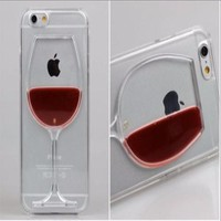 "*iPhone Clear ""Drinking Glass"" Case"