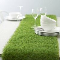 Artificial Grass Table Runner - $39