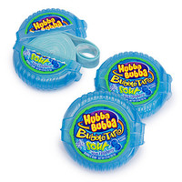 Hubba Bubba Bubble Tape Gum Rolls - Sour Blue Raspberry: 12-Piece Box