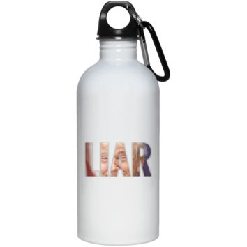 Trump Liar In Chief 20 oz. Stainless Steel Water Bottle