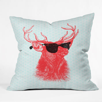 Nick Nelson Young Buck Throw Pillow