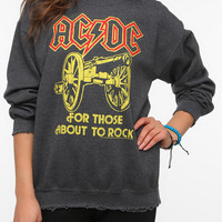 Junk Food ACDC Rock Band Sweatshirt