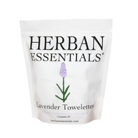Herban Essentials Cleansing Towelettes Lavender