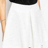 Oh My Love | Oh My Love Scuba Pleated Skater Skirt at ASOS