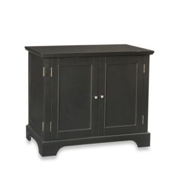 Home Styles Bedford Black Compact Computer Desk