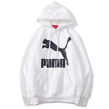 Puma Women or Men Fashion Casual Loose Top Sweater Hoodie