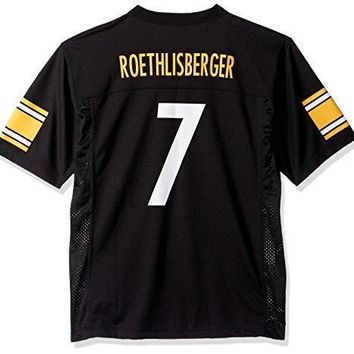 Ben Roethlisberger Pittsburgh Steelers Black Nfl Youth 2016 17 Season Mid Tier Jersey