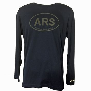 Men's  ARS Technical L/S T-Shirt - Reflective Black