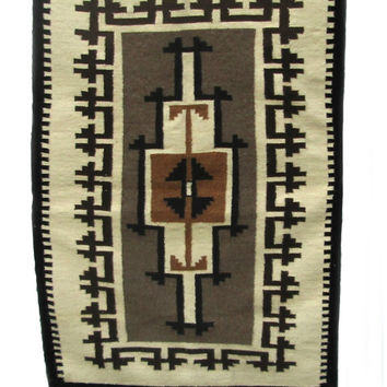 Navajo Rug Two Gray Hills by Irene Chase