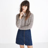 Denim Utility Zip Skirt : shopmadewell mini | Madewell