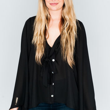 Show Me Your Mumu ~ Brynn Blouse ~ Black