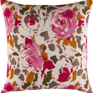 Kalena Throw Pillow Red, Pink