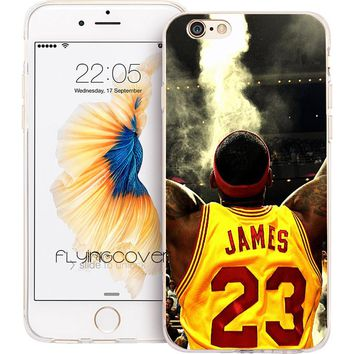 LeBron James Phone Cover for iPhone X 7 8 Plus 5S 5 SE 6 6S Plus 5C 4S 4 Cases