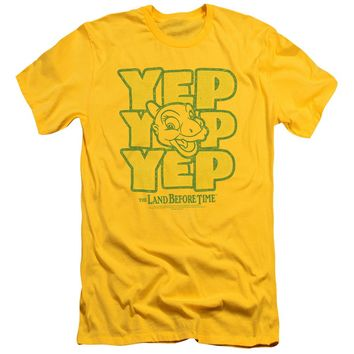 Land Before Time - Yep Yep Yep Short Sleeve Adult 30/1