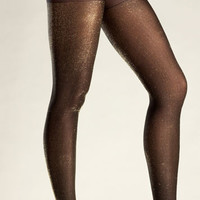 Metallic Lurex Pantyhose