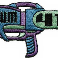Sum 41 Iron-On Patch Ray Gun Logo