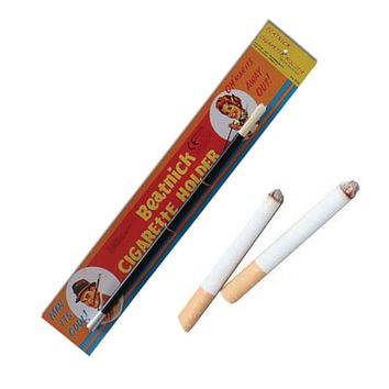 "2 Fake Cigarettes & Beatnick 12"" Cigarette Holder"
