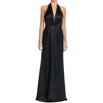 Jill Stuart Womens Satin Empire Evening Dress