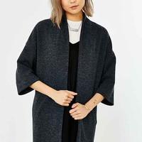 Silence + Noise Ribbed Drapey Jacket