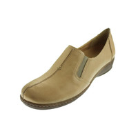 Naturalizer Womens Malvina Leather Seamed Loafers