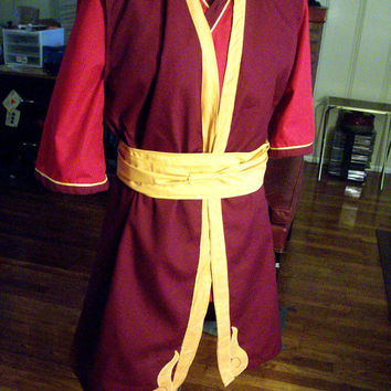 Prince Zuko Cosplay Costume (Avatar The Last Airbender)