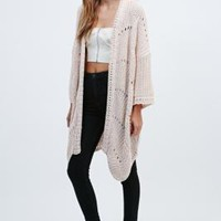 Pins & Needles Femme Stitch Cardigan - Urban Outfitters