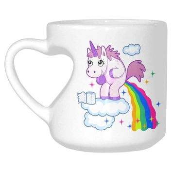 Poop Rainbow Unicorn Mug