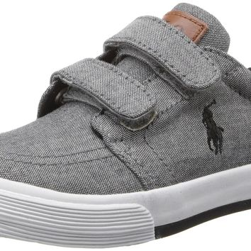 Polo Ralph Lauren Toddler Faxon IL EZ Sneaker Grey 6 M US Toddler '