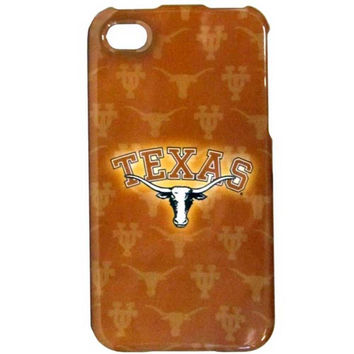Texas Longhorns iPhone 4/4S Graphics Snap on Case C4GR22