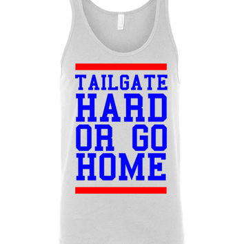 Tailgate  Hard or Go Home Unisex Tank Top