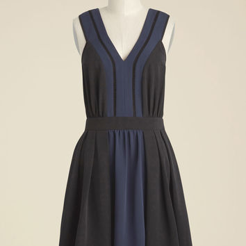 Unconventional Combo A-Line Dress | Mod Retro Vintage Dresses | ModCloth.com