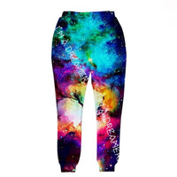 3D Fashion Print Sport Sweat Pants