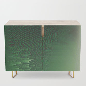 Field of Green Credenza by duckyb
