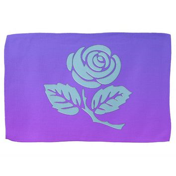 Purple Rose Towel