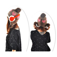 Thickened Winter Warm Heart Knitting Wool Hat,Cheap in Wendybox.com