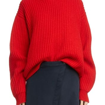 Acne Studios Ribbed Oversized Sweater | Nordstrom