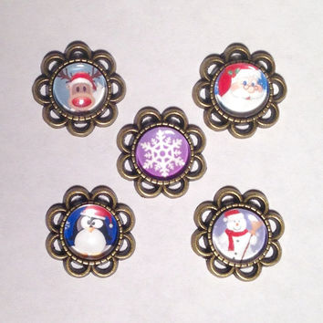 Christmas and Winter Theme Plugs 8g-00g
