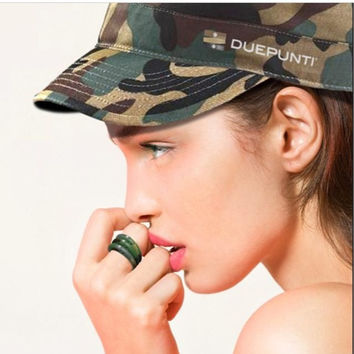 Duepunti Camo Diamond Ring
