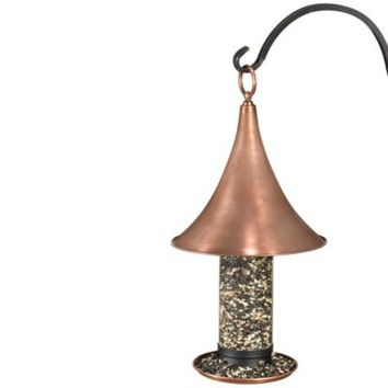 Good Directions Castella Bird Feeder in a Copper Finish