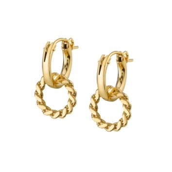 Io Hoop Earrings