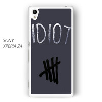 Idiot 5SOS Hater For Sony Xperia Z1/Z2/Z3 Phone case ZG