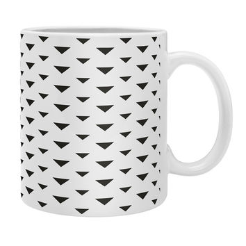 Allyson Johnson Upside Down Triangles Coffee Mug